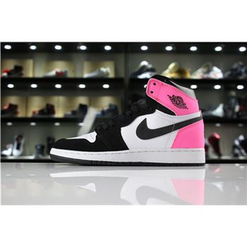 Air Jordan 1 High OG Valentine's Day Black/Hyper Pink-White 881426-009