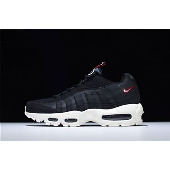 Nike Air Max 95 Pull Tab Black/Sail-Gym Red AJ1844-002