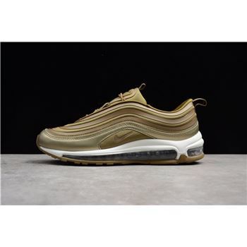 Nike Air Max 97 Ultra '17 Metallic Gold/Summit White 917704 901 Men's Size