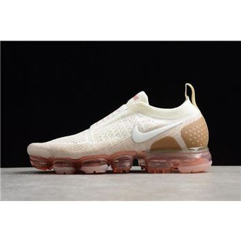 2018 Nike Air VaporMax Moc 2 Sail/Anthracite/Sand/Wheat Green AH7006-100