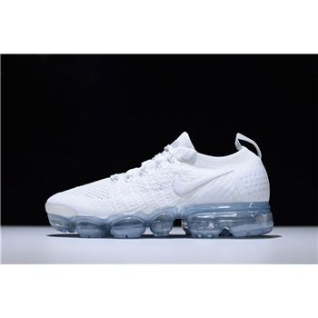 Cheap Nike Vapormax 2.0 Triple White Running Shoes 942842-100