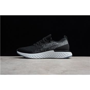 Buy Nike Epic React Flyknit Black/Dark Grey-Pure Platinum AQ0067-001 Men's and Women's Size