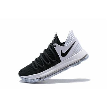 Nike KD 10 Black/White Men's Basketball Shoes 897815-008