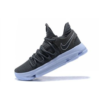 Nike KD 10 Dark Grey/Reflective Silver Men's Basketball Shoes 897815-005