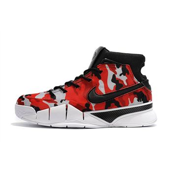 Undefeated x Nike Kobe 1 Protro Camo Black/Red-White For Sale