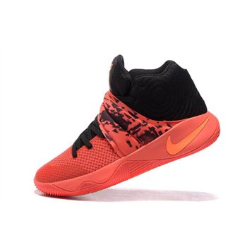Nike Kyrie 2 Inferno Bright Crimson/Atomic Orange-Black For Sale