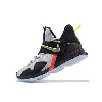 Nike LeBron 14 Out of Nowhere Wolf Grey/Black-Volt-Bright Crimson