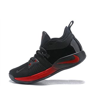 Paul George Nike PG 2 Black/Red Men's Basketball Shoes