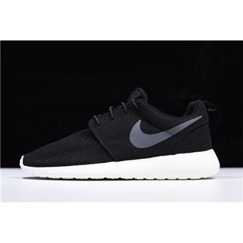 Nike Roshe One Black/Anthracite-Sail Running Shoes 511881-010