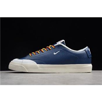 Quartersnacks x Nike SB Zoom Blazer Low XT Navy/Sail-White AQ3499-411