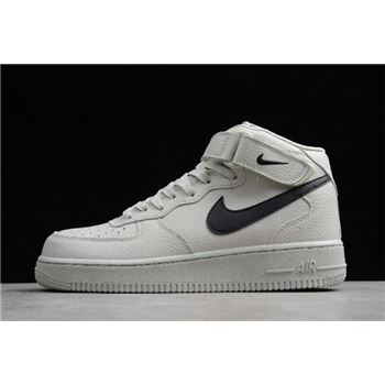 Nike Air Force 1 Mid '07 Light Bone/Black 315123-047