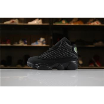 Kid's Air Jordan 13 Black Cat Black/Anthracite-Black For Sale