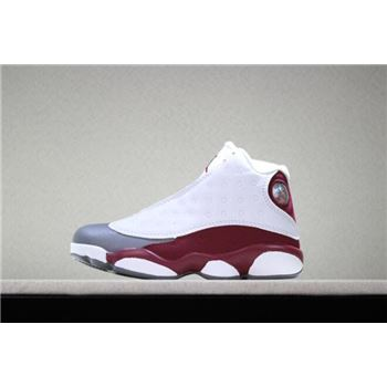 Kid's Air Jordan 13 Grey Toe Basketball Shoes Free Shipping