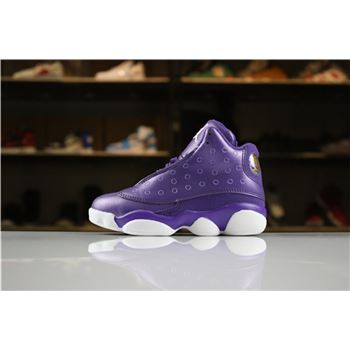 Kid's Air Jordan 13 Night Purple/White For Sale